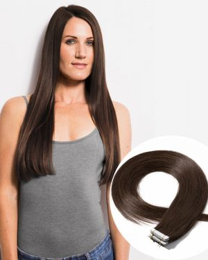 Chocolate Brown tape in hair extensions.jpg