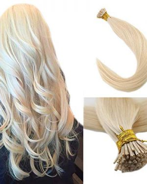 blonde i tips hair extensions