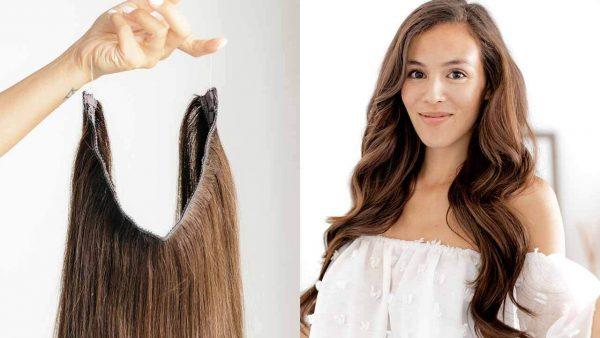 flip in hair extensions